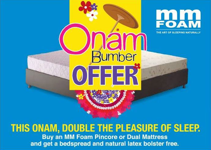 MM Foam Onam Offer