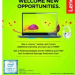 Lenovo  Laptops – Onam Offers 2017